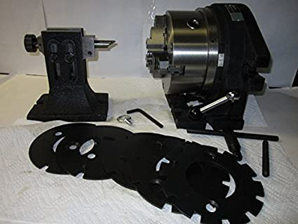 """8/"""" Precision Super Spacer F2 3 Jaw Chuck Included"""