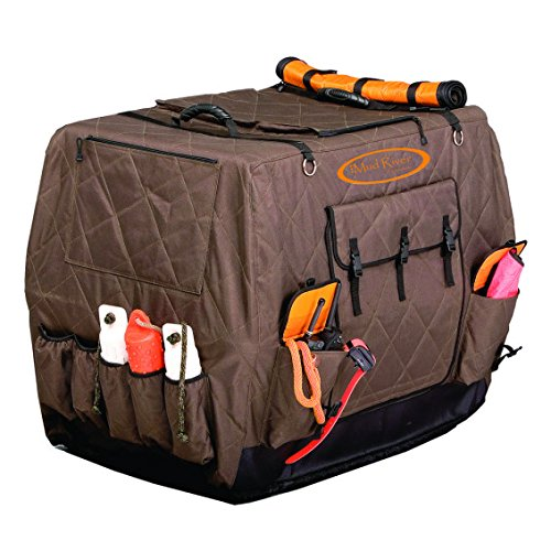 "Mud River Dixie Kennel Cover, Brown, Large Extended/37"" x 28.5"" x 30"""