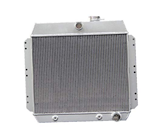 1951 Chevy Sedan - Blitech 3 ROW ALUMINUM RADIATOR Fits 1949 1950 1951 1952 1953 1954 CHEVY STYLELINE BELAIR CAR SEDAN COUPE V8