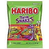 Haribo Gummi Candy, Twin Snakes, 4 Ounce