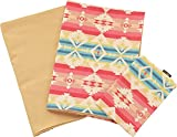 Emoor 100% Cotton 3 Pieces Cover set Semi Double for Traditional Japanese Futon, Kilim Beige