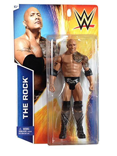 Mattel, WWE Basic Series Exclusive, The Rock Action Figure - Nascar Rocks