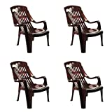 Cello Comfort Sit Set of 4 Chairs (Rose Wood)