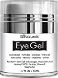 : Eye Gel for Dark Circles, Puffiness, Wrinkles, Fine Lines and Bags - The Most Effective Anti-Aging Eye Cream for Under and Around Eyes with Hyaluronic Acid and Rosehip Oil - 1.7 fl. oz