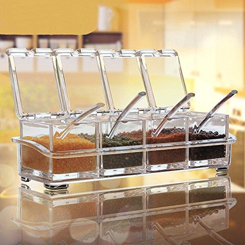 Clear Seasoning Rack Spice AIQI product image