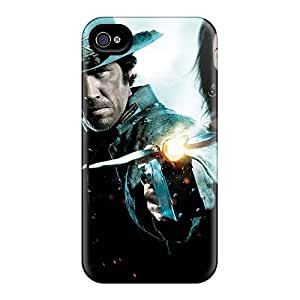 Tpu Shockproof/dirt-proof Jonah Hex 2010 Movie Cover Case For Iphone(4/4s)