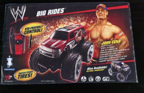 WWE Wrestling ** R/C Big Rides Remote Control Van ** John Cena ** by Mattel