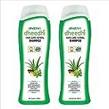 Dhathri dheedhi hair care herbal shampoo - 200ml (Pack of 2)