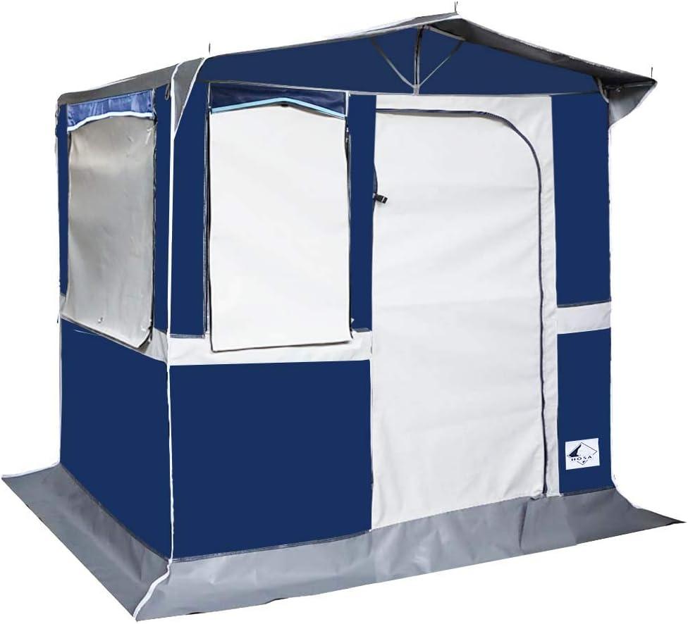 Hosa - Tienda Cocina de Camping Nicaragua 200 x 150 con Tapas - Fabricada en PVC Trevira Impermeable: Amazon.es: Deportes y aire libre