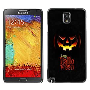 GagaDesign Phone Accessories: Hard Case Cover for Samsung Galaxy Note 3 - Happy Halloween