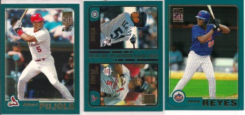 - 2001 Topps Traded Baseball Complete Set 265 Cards Pujols Rookie
