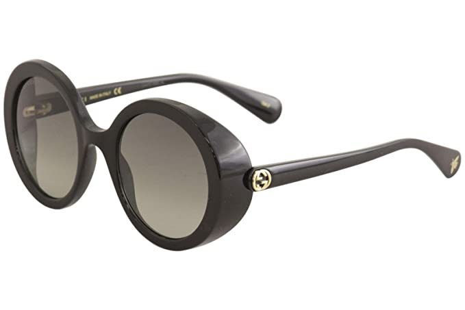 Gucci Gafas de Sol GG0367S BLACK/GREY SHADED mujer: Amazon ...