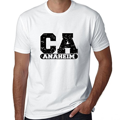 Hollywood Thread Anaheim, California CA Classic City State Sign Men's -