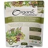 Organic Traditions Slippery elm bark powder, 200g