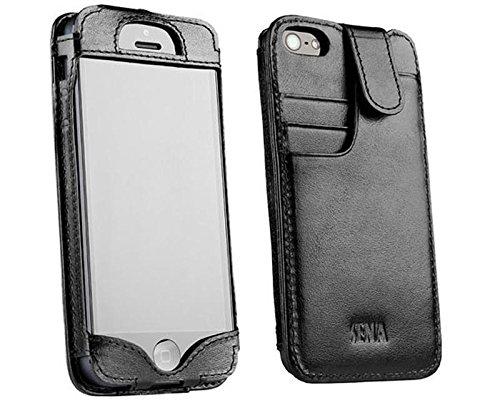 save off 2dea8 10dc0 Sena Cases WalletSlim for iPhone SE / 5 / 5s (Black)