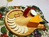 Prodyne Cheese Slicer/Tray with Cracker Well