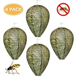 Wasp Nest Decoy Eco Friendly Hanging Fake Wasp Nest Lantern Trap for Home and Garden Outdoors