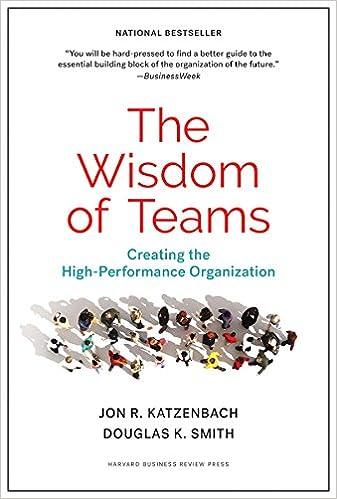 The Wisdom of Teams: Creating the High-Performance Organization: Amazon.es: Jon R. Katzenbach, Douglas K. Smith: Libros en idiomas extranjeros