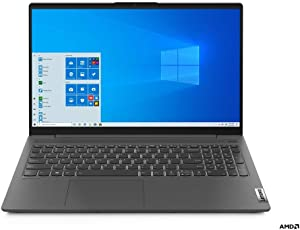 "Lenovo IdeaPad 5 15.6"" Laptop Ryzen 7-4700U 16GB RAM 512GB SSD Graphite Grey - AMD Ryzen 7-4700U Octa-core - 1920 x 1080 Full HD Resolution - AMD Radeon Graphics - in-Plane Switching Technology -"