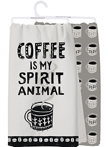 Primitives By Kathy - Dish Towel Set - Coffee Spirit