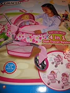 """Graco """"Just Like Mom"""" 4 in 1 Doll Travel System"""