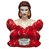 Westland Giftware Gone with the Wind Red Dress Scarlett 10-3/4-Inch Cookie Jar by Westland Giftware