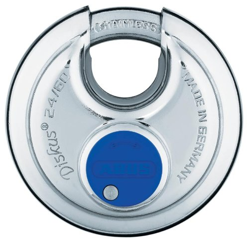 ABUS 24IB/60 KD All Weather Padlock, 1/2 In H, KD, Silver