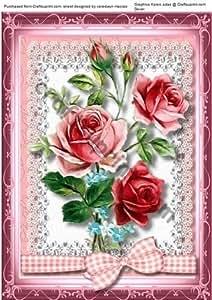A4 rosas hermosas para cualquier persona, Por Macrae Ceredwyn