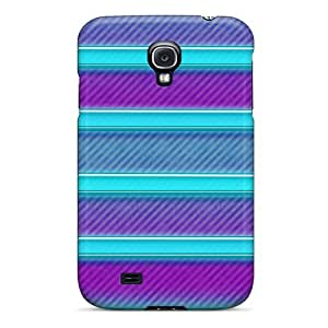 Durable Defender Case For Galaxy S4 Tpu Cover(neon Shelf)