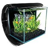 Marineland Silhouette Square Glass Aquarium Kit, 3-Gallon