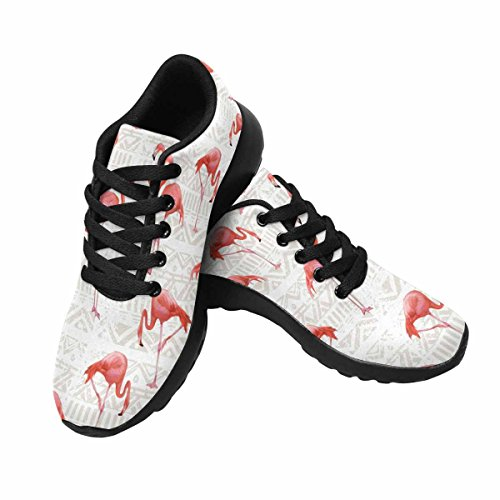 Interestprint Flamingo Bird Print Mujeres Para Correr Running Sneaker Ligero Go Easy Walking Zapatos Multi 1