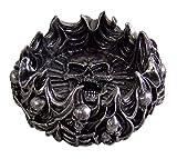 Gothic Skull and Bones Decorative Ashtray
