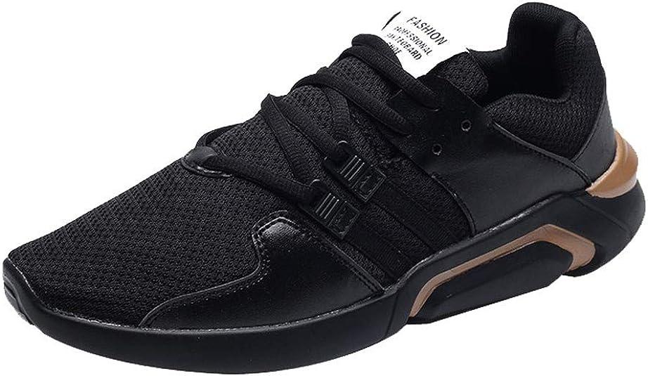 Give-koiu - Zapatillas de Running para Hombre, Color Dorado, Talla 41 EU: Amazon.es: Zapatos y complementos