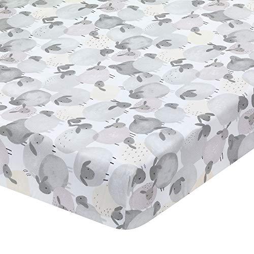 Lambs & Ivy Sleepy Sheep Gray/White Cotton
