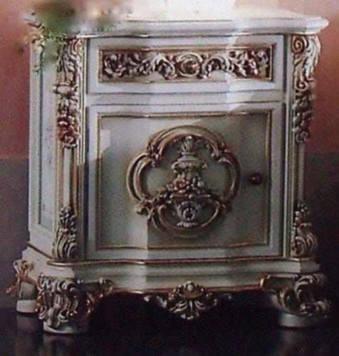 Barock Nachttisch kleine für Schlafzimmer Antik Stil Vp7704