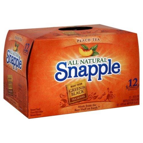 (Snapple Tea, 12- 16 Fl Oz (Pack of 2) (Peach))