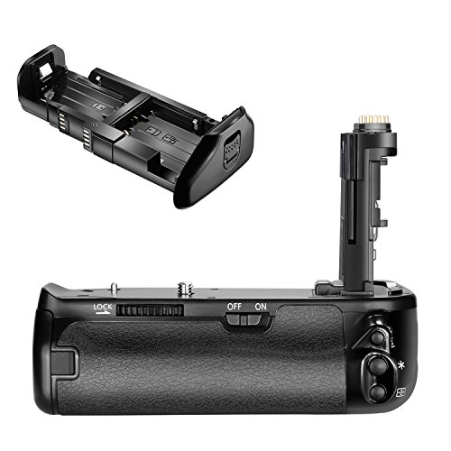 Neewer Pro Camera Battery Grip Replacement for Canon BG-E21 for Canon 6D Mark II DSLR Camera, Work with One or Two LP-E6 Rechargeable Li-ion Battery (Battery NOT Included) (Battery Replacement Grip)