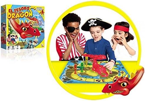 IMC Toys 43-9509 - Juego El Tesoro del Dragón: Amazon.es: Juguetes ...