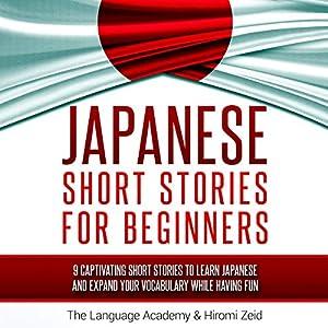 Japanese: Short Stories for Beginners Audiobook