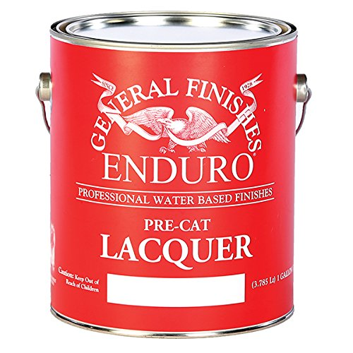 (General Finishes Water Based Pre-Cat Lacquer)