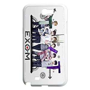 South Korea band EXO Poster Hard Plastic phone Case Cover+Free keys stand For Samsung Galaxy Note 2 Case XFZ435996