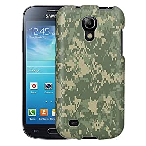 Samsung Galaxy S4 Mini Case, Slim Fit Snap On Cover by Trek Marine Green Camo Case