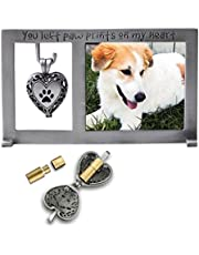 """CA Gift PF404 Pet Memorial Frame with Vial for Ashes, 5-1/4 x 3"""""""
