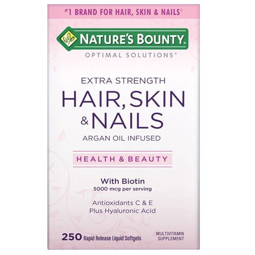 Natures Bounty Extra Strength Hair Skin Nails Count