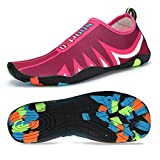 Coolloog Men Women Barefoot Quick Dry Water Shoes Lightweight Breathable for Walking Swim
