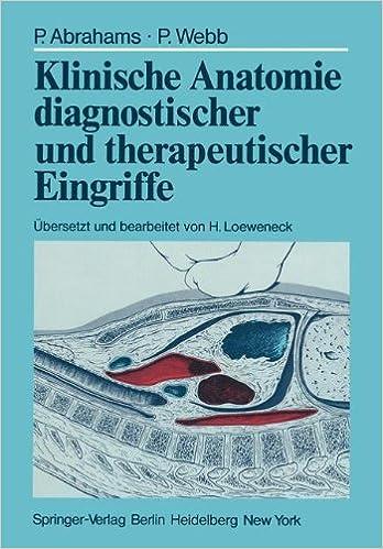 Book Klinische Anatomie diagnostischer und therapeutischer Eingriffe