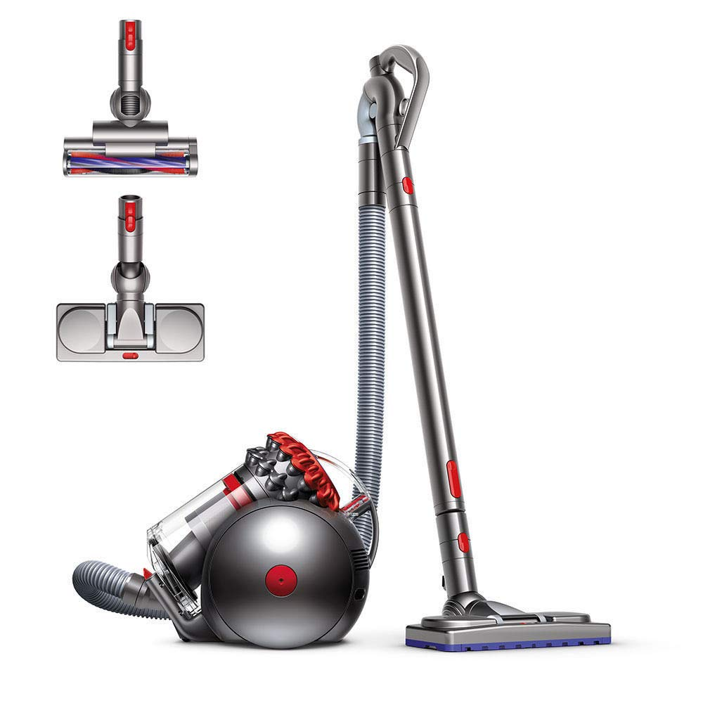 Dyson Big Ball Musclehead Canister Vacuum | Red by Dyson