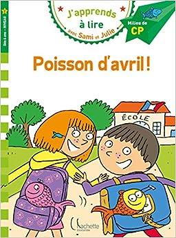 Télécharger Sami et Julie CP niveau 2 - Poisson d'avril ! pdf gratuits