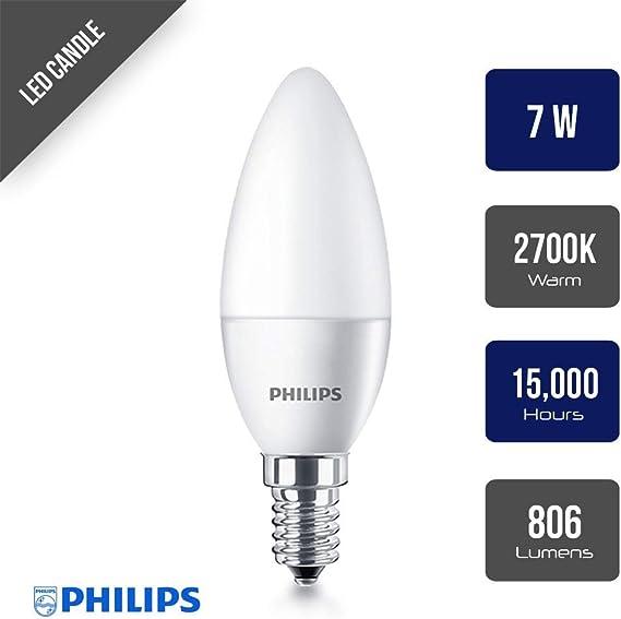 Philips CorePro Glühbirne LED E14 Kerze 7W = 60W E14 806 lm 2700K warmweiß