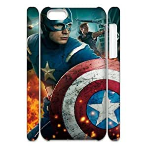 K-K-Q- Avengers Age of Ultron Phone 3D Case For iPhone 5C [Pattern-4]